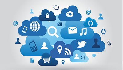 Cloud based web hosting