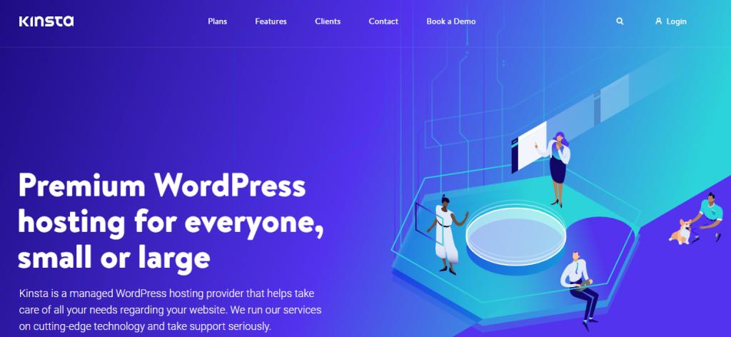 Kinsta - homepage